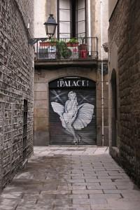 El Barri Gotic Doorway, Barcelona, Spain